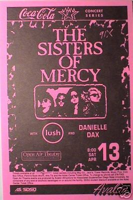 lush remembered memorabilia posters and flyers